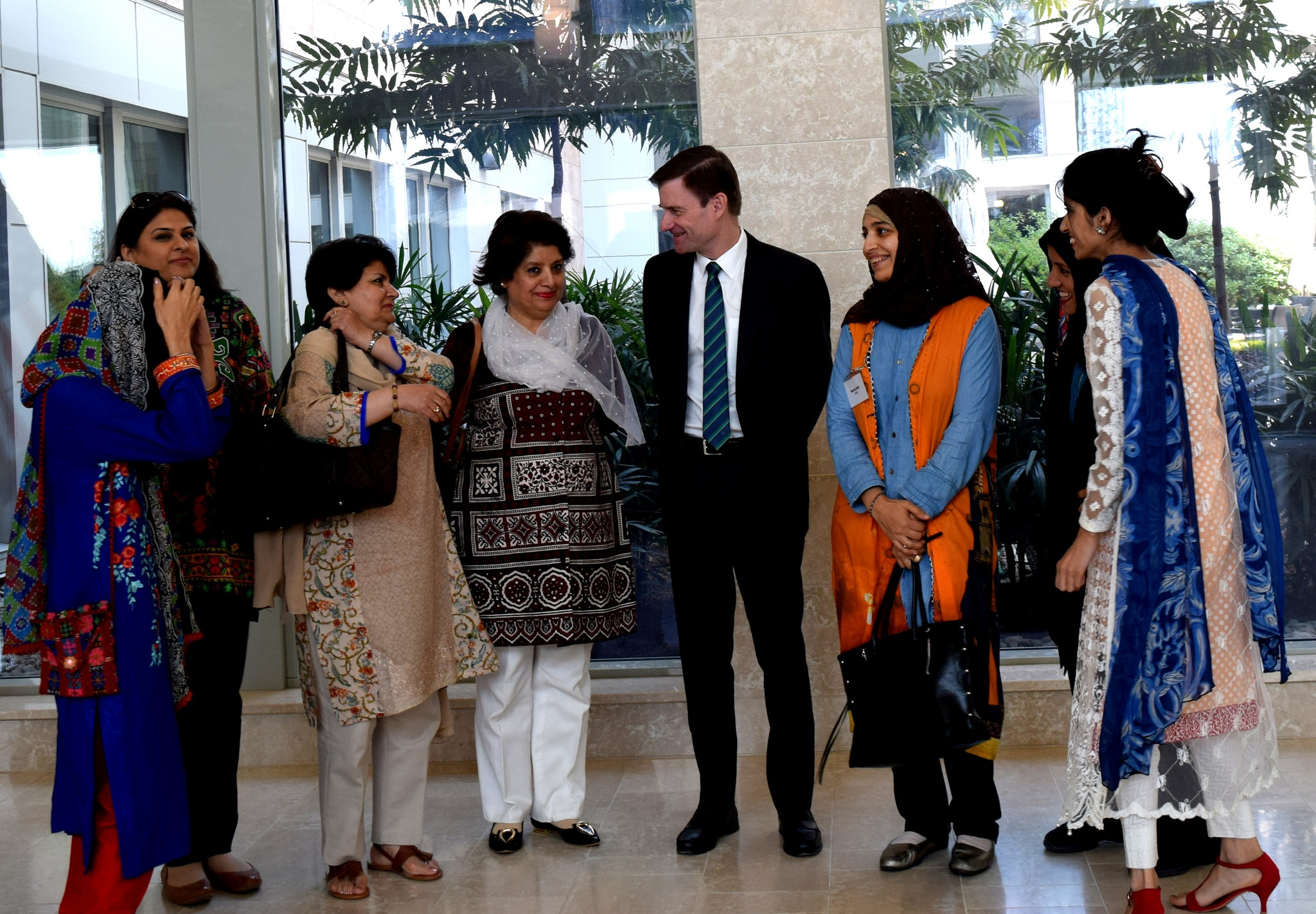 Medical college holds 29th medal distribution ceremony news pakistan - American Ambassador David Hale Meets With Pakistani Women Business Owners