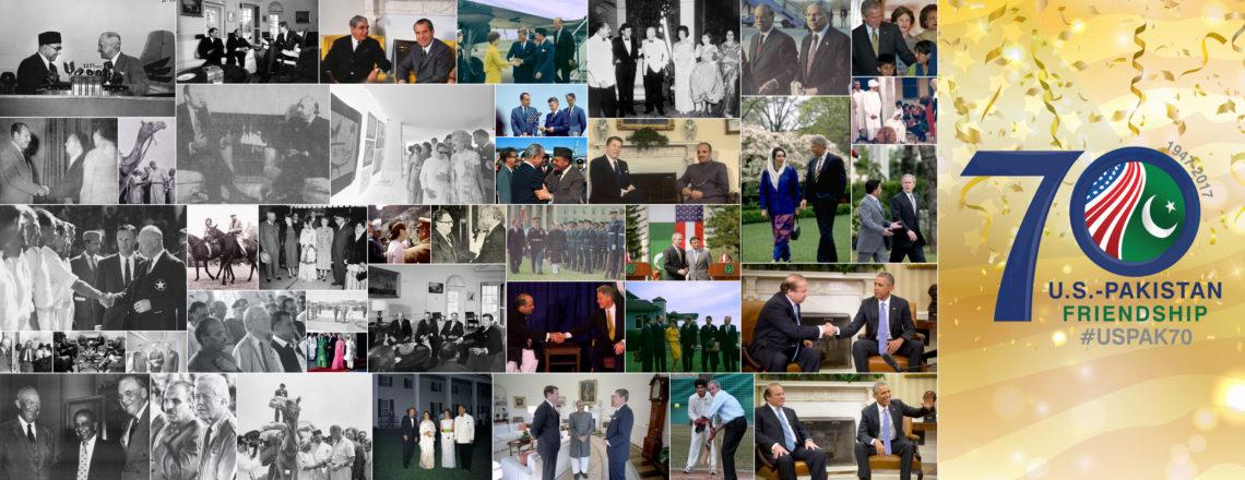 Celebrating 70 Years of U.S.-Pakistan Relations #USPAK70 #70SaalMubarak