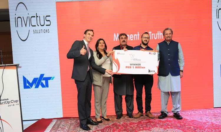 Peshawar Team Wins One Million Pakistani Rupees in StartUp Cup