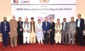 Provincial government representatives with USAID Pakistan Mission Direct…